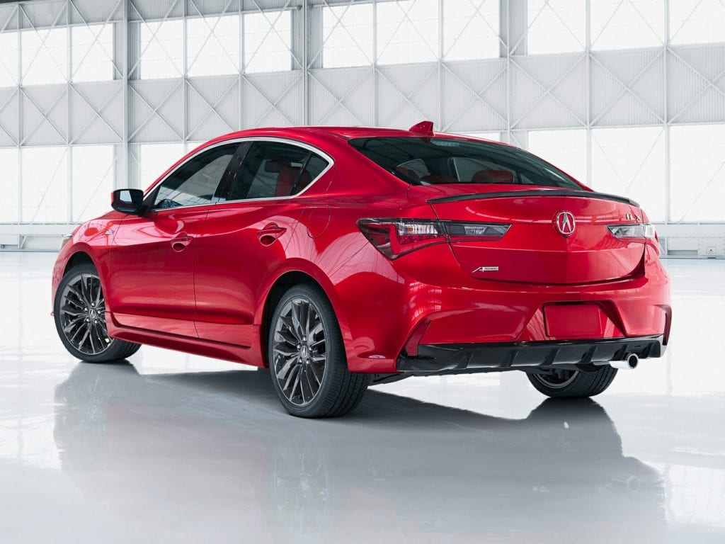 2020 Acura ILX Technology & A-Spec Package 4dr Sedan Lease