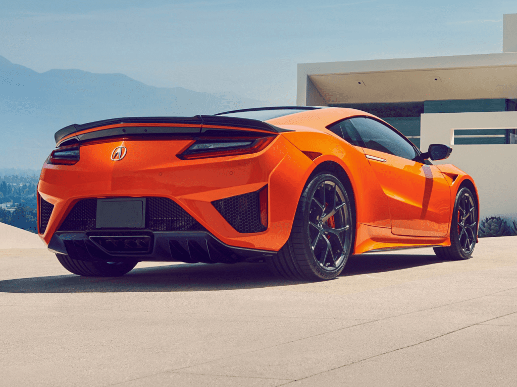 2020 Acura NSX Base 2dr All-wheel Drive Coupe Lease