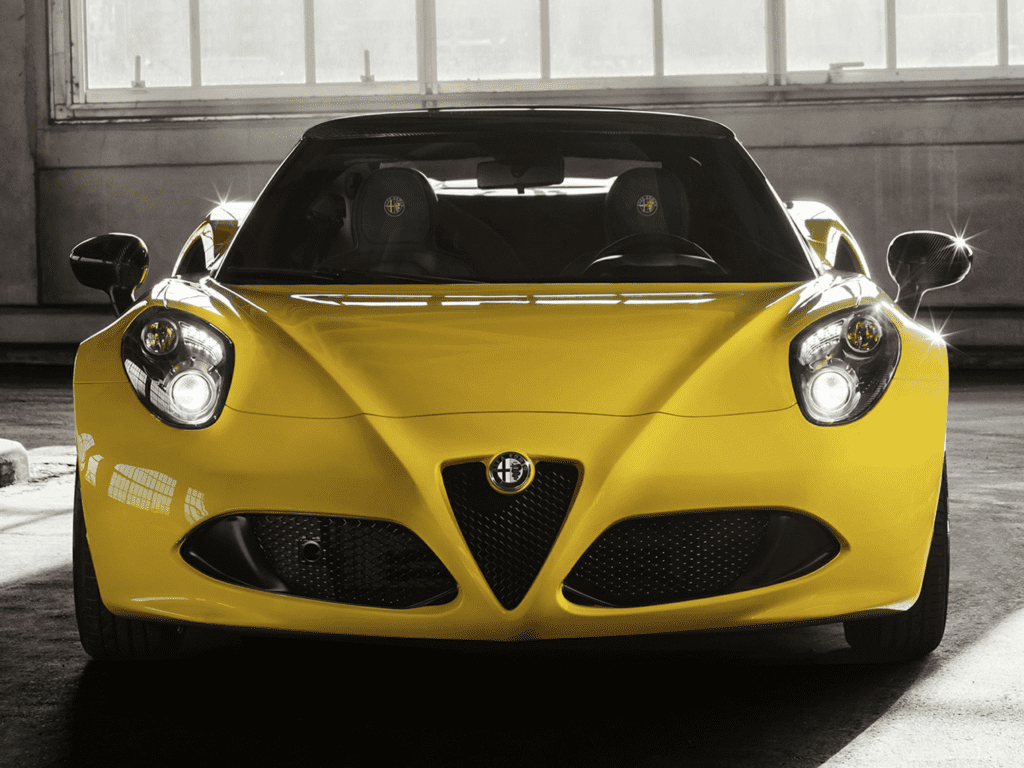 2021 Alfa Romeo 4C Spider