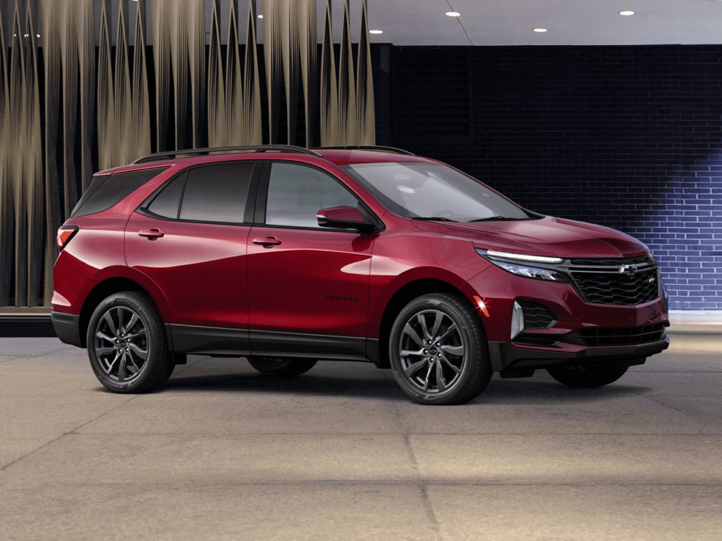 2021 Chevrolet Equinox Premier All-wheel Drive Lease