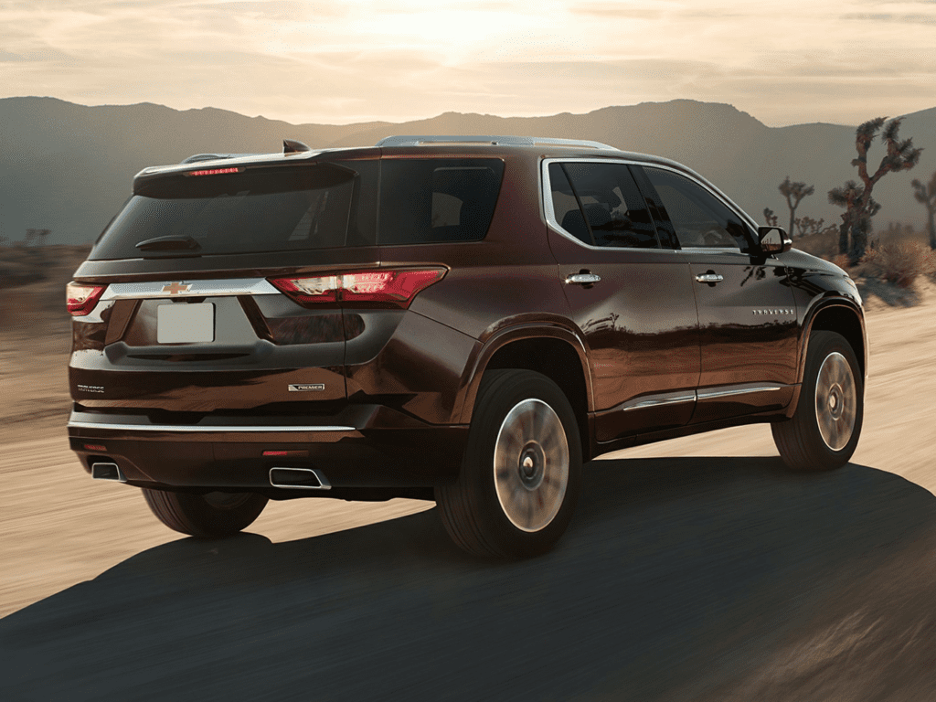 2021 Chevrolet Traverse High Country All-wheel Drive Lease