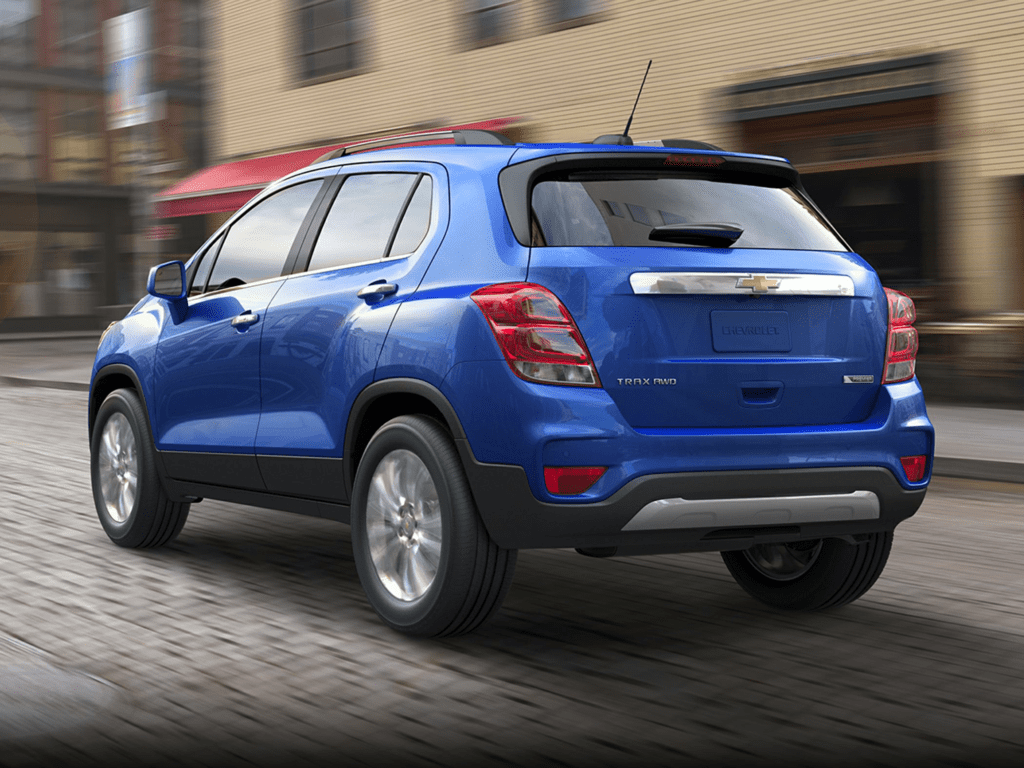2021 Chevrolet Trax LT All-wheel Drive Lease