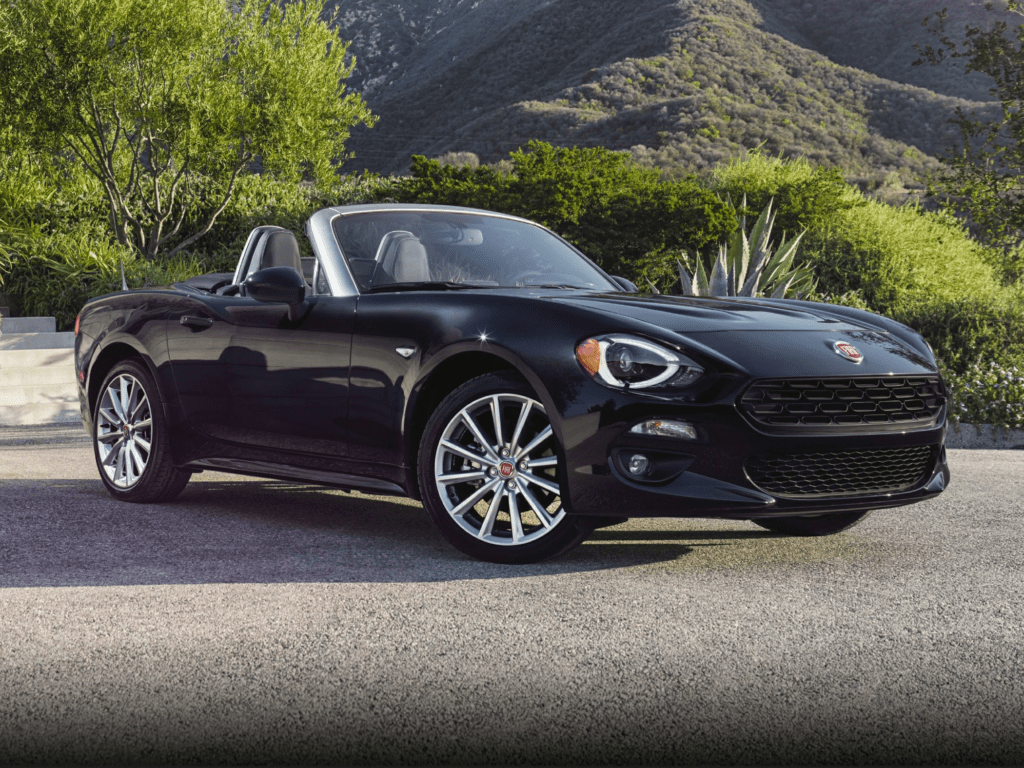 2020 FIAT 124 Spider Abarth 2dr Convertible Lease
