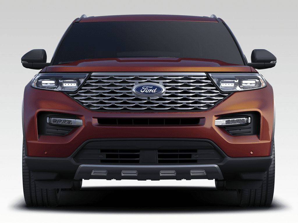 2020 Ford Explorer Platinum 4dr 4x4 Lease