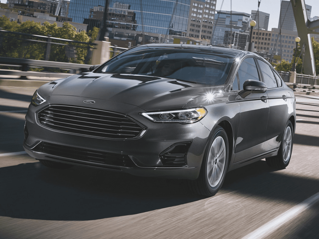 2020 Ford Fusion Titanium 4dr All-wheel Drive Sedan Lease