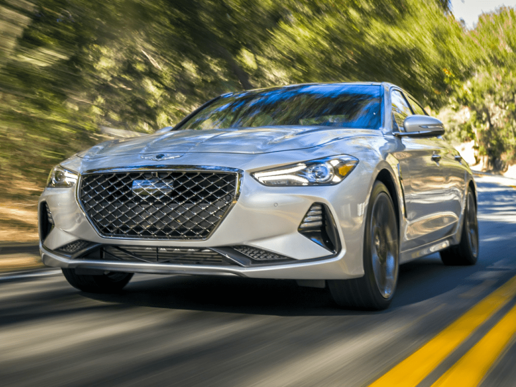 2021 Genesis G70 3.3T 4dr All-wheel Drive Lease