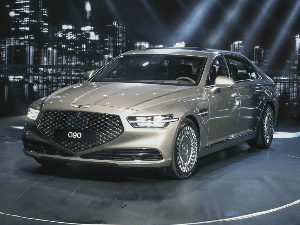 2021 Genesis G90 5.0 Ultimate 4dr All-wheel Drive Sedan Lease
