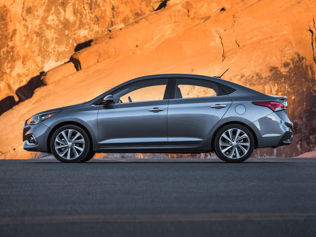 2021 Hyundai Accent Limited 4dr Sedan Lease