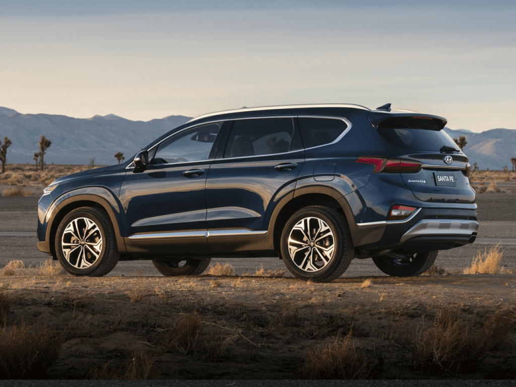 2020 Hyundai Santa Fe Limited 2.0T 4dr All-wheel Drive Lease