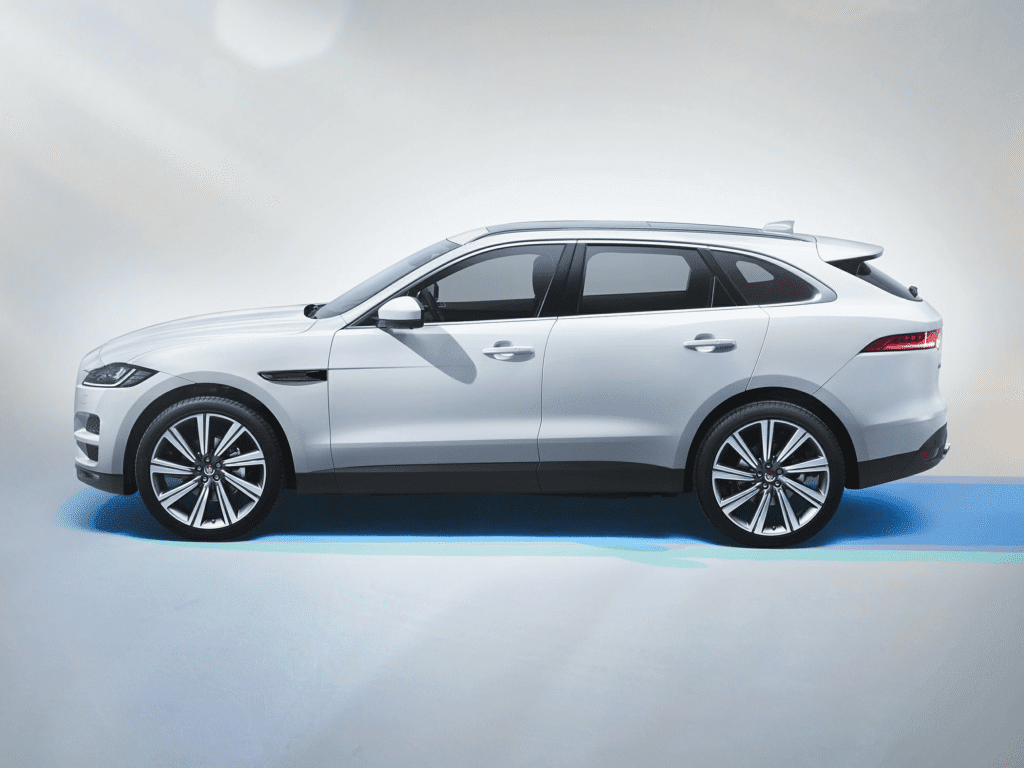 2020 Jaguar F-PACE SVR All-wheel Drive Sport Utility Lease