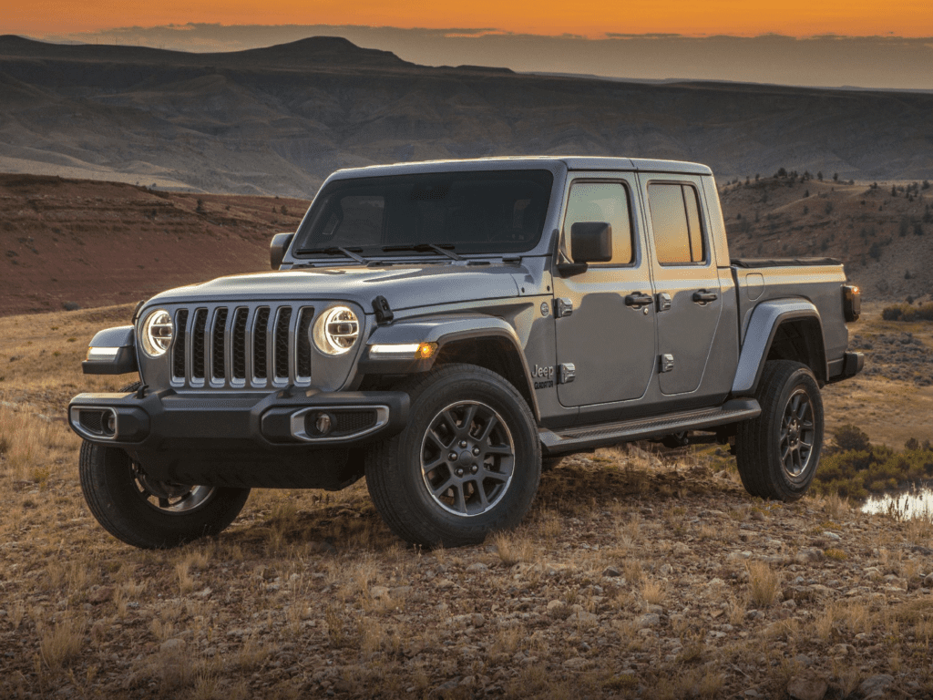 2021 Jeep Gladiator Rubicon 4dr 4x4 Crew Cab 5 ft. box Lease