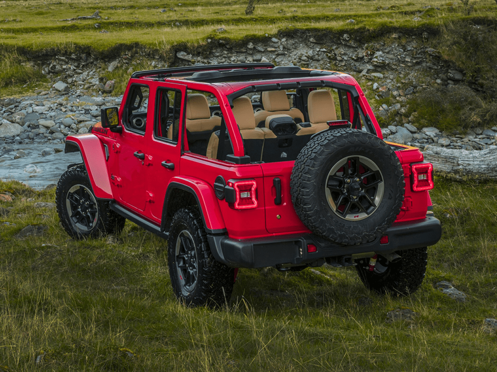 2021 Jeep Wrangler Unlimited Rubicon 4dr 4x4 Lease
