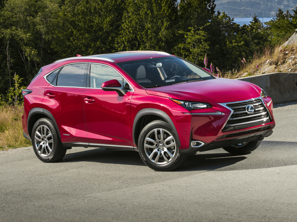 2021 Lexus NX NX 300h F SPORT Black Line 4dr All-wheel Drive Lease