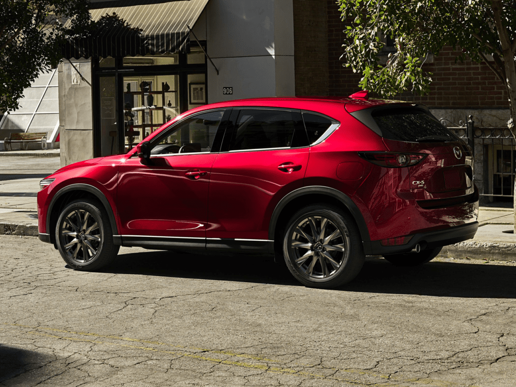 2021 Mazda CX-5 Signature 4dr i-ACTIV All-wheel Drive Sport Utility Lease