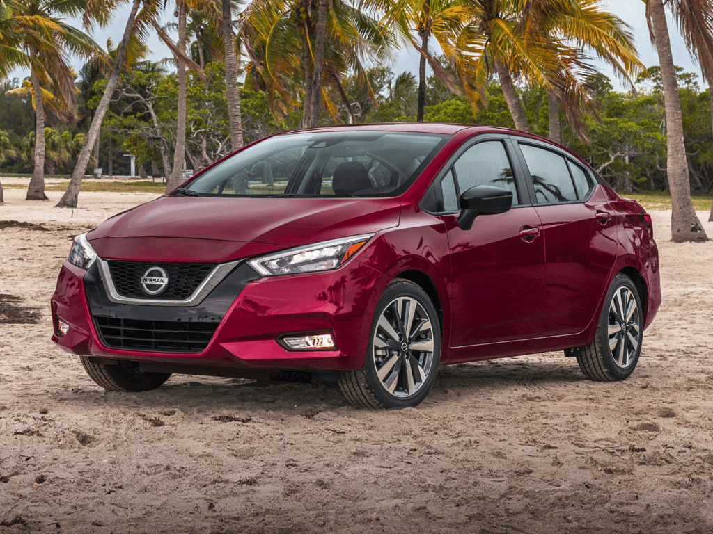 2021 Nissan Versa 1.6 SR 4dr Sedan Lease