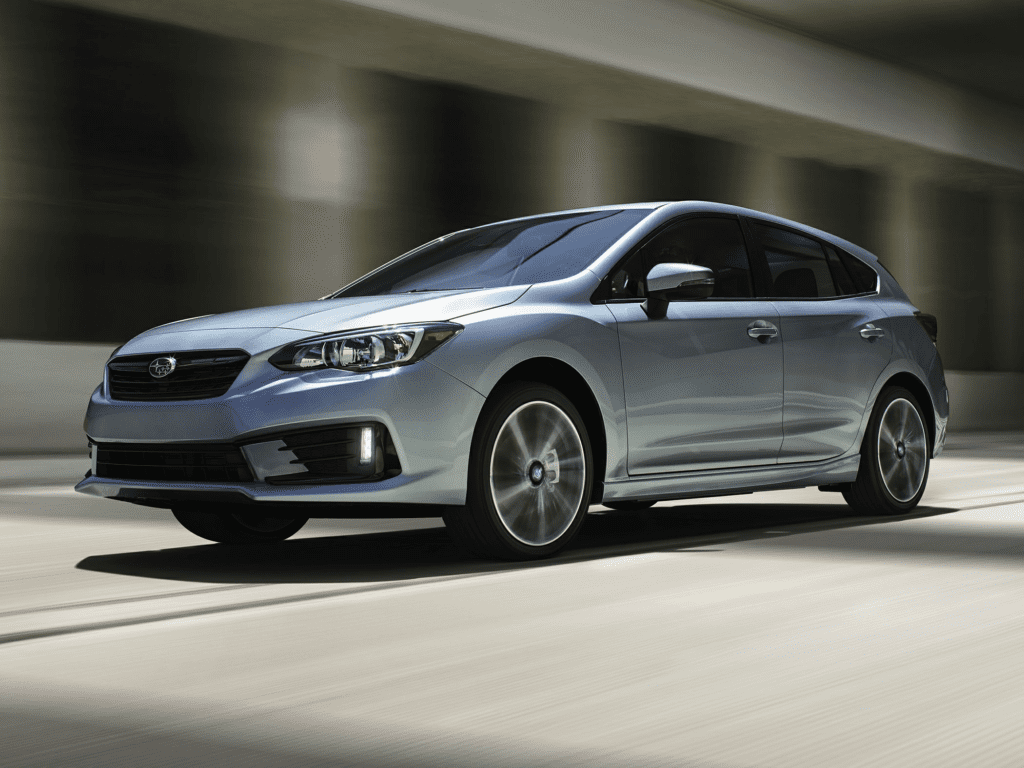 2021 Subaru Impreza Limited 4dr All-wheel Drive Hatchback Lease