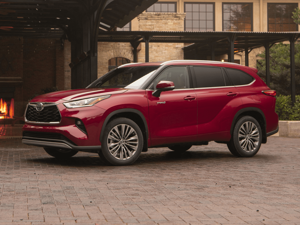 2021 Toyota Highlander Hybrid Platinum 4dr All-wheel Drive Lease