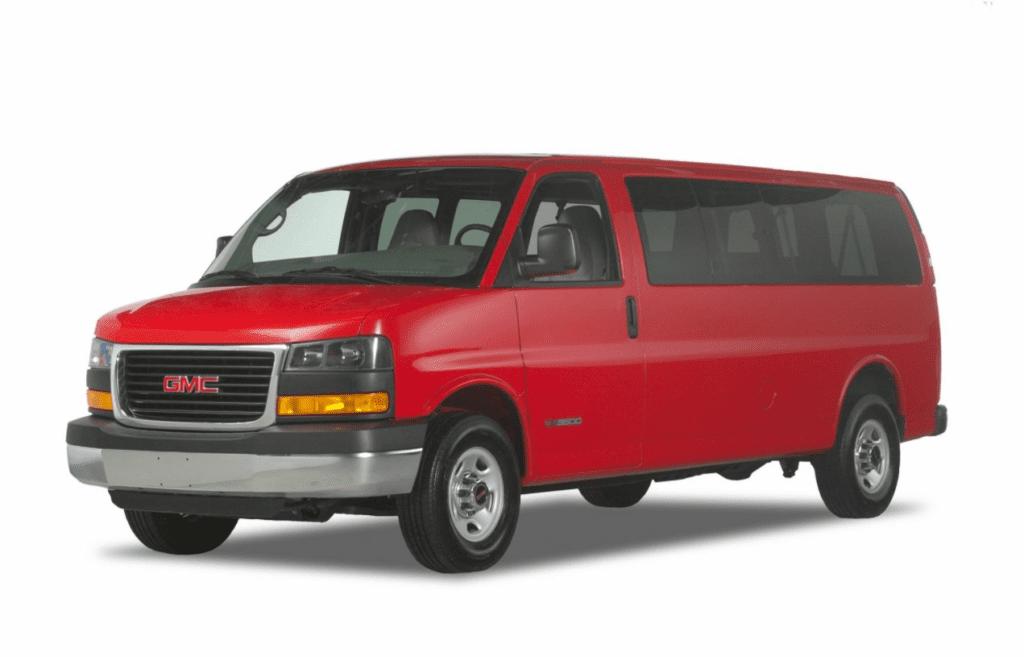 2021 GMC Savana 3500